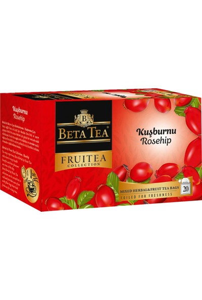 Kuşburnu Çayı 20x2,5 Gr - Beta Fruitea Collection