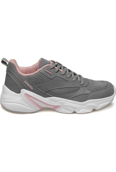 Kinetix Mora W Gri Kadın Comfort Ayakkabı