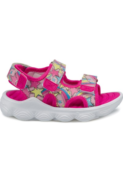 Kinetix Zenıt Fuşya Kız Çocuk Sandalet