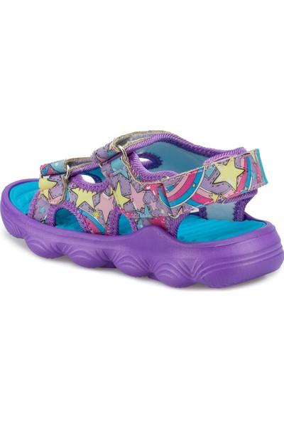 Kinetix Zenıt Mor Kız Çocuk Sandalet