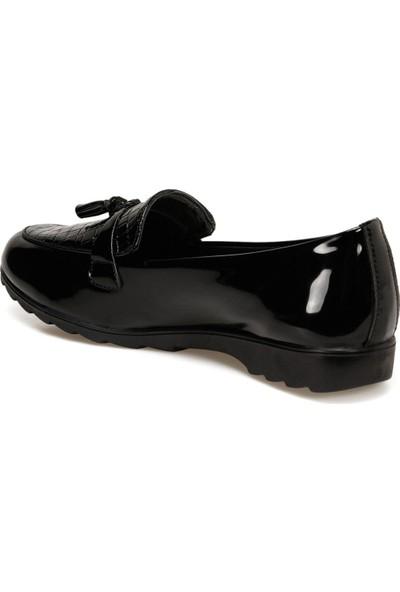 Polaris 161311.RZ Siyah Kadın Comfort Ayakkabı