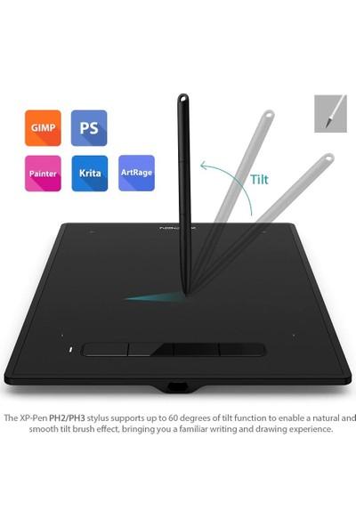 Xp-Pen G960S Plus 12.2x8.2 inc Grafik Tablet Dijital Silgi İçeriği