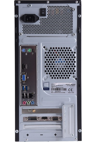 Casper Nirvana N2L.1040-B500X Intel Core i5 10400 16GB 1TB + 240GB SSDFreedos Masaüstü Bilgisayar