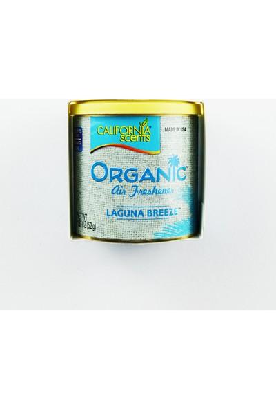 California Scents 52 gr Organic - Laguna Breeze, Okyanus Oto Kokusu