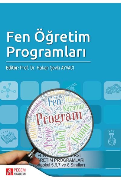 Fen Öğretim Programları - Fatime Balkan Kıyıcı