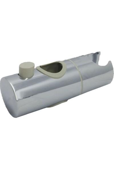 Tema Duş Mafsalı 2.2cm Fiskiye Oturağı Banyo Duş Seti Düğmeli Tip