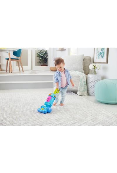 Fisher-Price Eğlen ve Öğren serisinden Türkçe konuşan Neşeli Süpürge, bebekler ve yürüme çağındaki çocuklar için müzikli, ışıklı ve eğitici içerikli, itmeli oyuncak süpürge GTW19