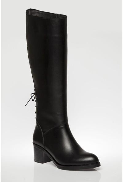 Deripabuc Deri Kadın Deri Çizme DP02-1069