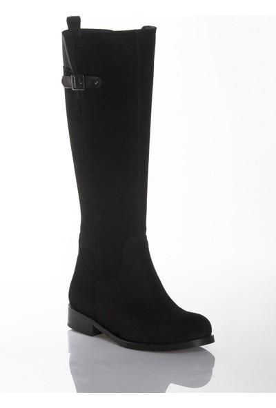 Deripabuc Deri Kadın Deri Çizme DP01-2115