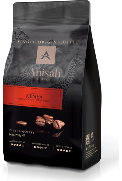 Anisah Kenya Filtre Kahve 250 Gr French Press