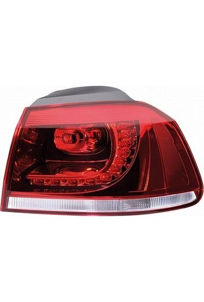 Depo Volkswagen Golf 6 Dış Sağ Stop Lambası 2010-2012 [5K0945096K]