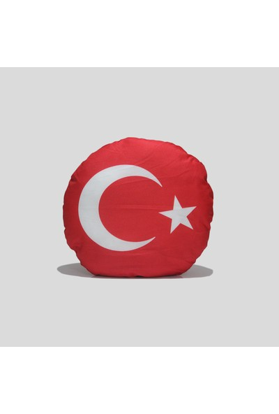 Ömüres Emoji Kırlent Türk Bayrağı