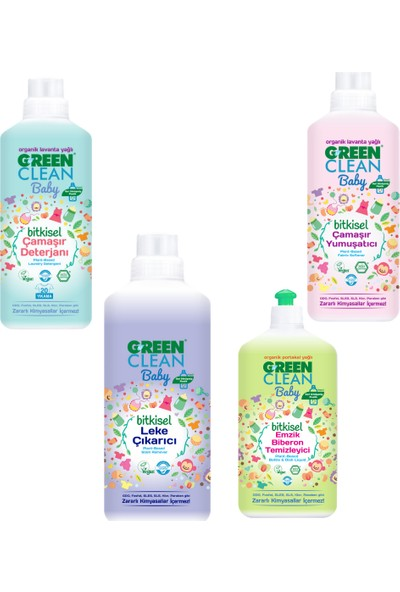 U Green Clean Bebek Temizlik Bakım Seti