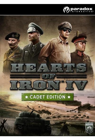 Hearts Of Iron IV: Cadet Edition Dijital Oyun