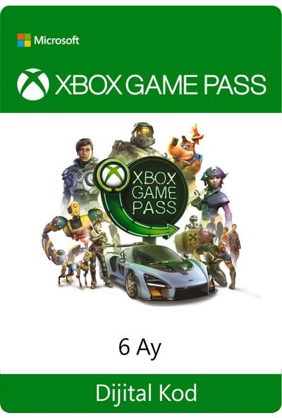 Xbox Game Pass - 6 Ay Dijital Oyun