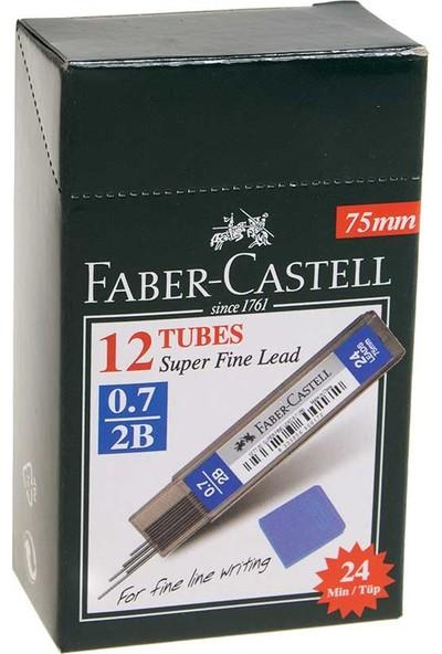 Faber-Castell Süper Fine Lead 2b 0.7 mm Kalem Ucu 12'li