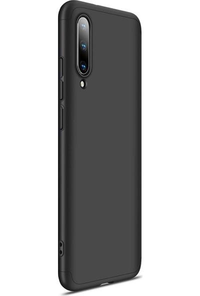 AksesuarLab Xiaomi Mi A3 Kılıf 360 Tam Koruma Kılıf - 360 Derece Tam Koruma