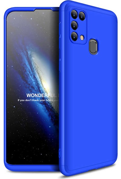 Zore Ays Kapak - Samsung Galaxy M31 Kılıf 360 Tam Koruma Kılıf - 360 Derece Tam Koruma