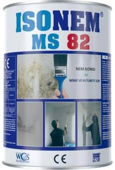 Isonem MS82 Nem Rutubet Boyası Beyaz 1 kg + Rulo