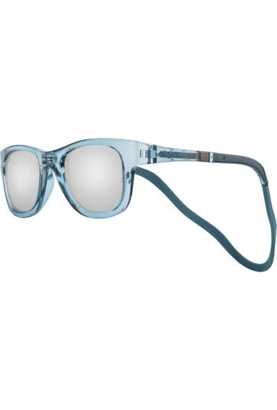 Slastik Trek Flip Mıknatıslı Bantlı Çocuk Güneş Gözlüğü