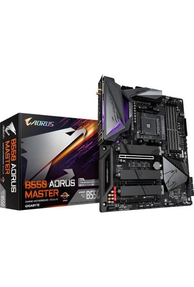 Gigabyte B550 Aorus MASTER AMD B550 2133 MHz DDR4 Soket AM4 ATX Anakart