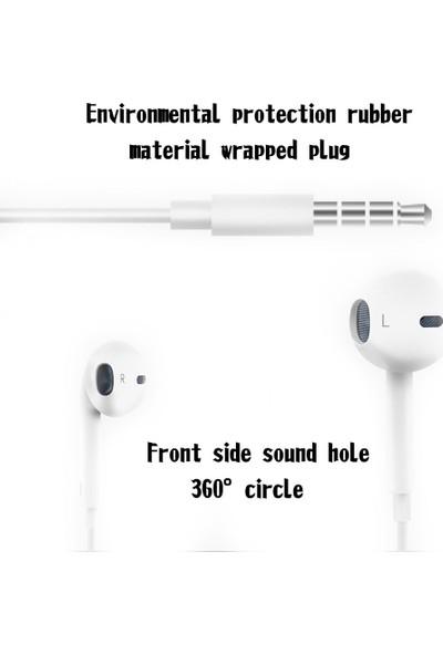 Buyfun Cep Telefonu İçin Mikrofon Ses Seviyeli Ayarlanabilir Kulaklık (Yurt Dışından)