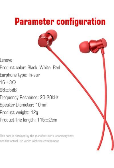 Lenovo HF130 Kablolu Kulaklık Smartphone (Yurt Dışından)