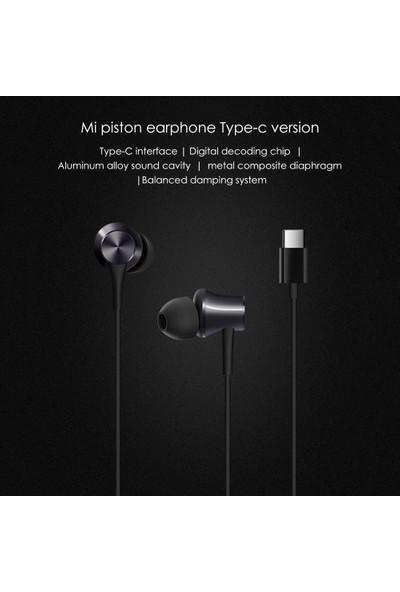 Xiaomi Tip-C Kablolu Piston Kulaklık HSEJ04WM Stereo (Yurt Dışından)