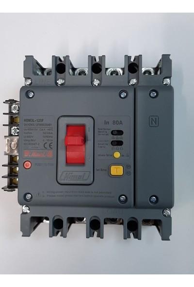 Himel 80A Yangın Korumalı Şalter - HDM3L12F080B320AB1