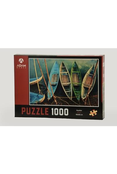 Adam Games Kayıklar 1000 Parça Puzzle