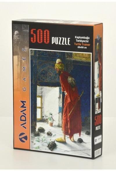Adam Games Kaplumbağa Terbiyecisi 500 Parça Puzzle