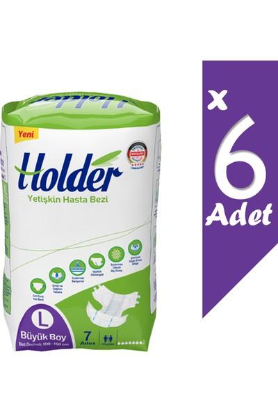 Holder Tutucu Büyük Boy Ekonomik Yetişkin Bezi 42 Li 100-150 cm