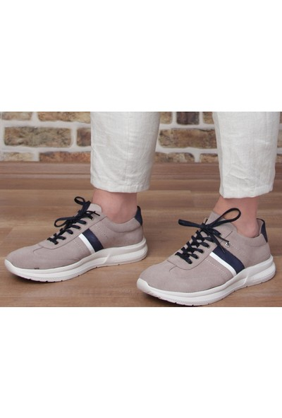 Pierre Cardin Süet Sneaker Ayakkabı (PC-1052)