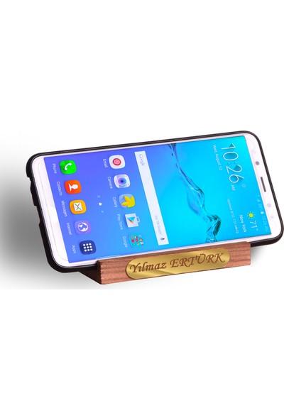 İsme Özel Ahsap Telefon Tablet Tutucu