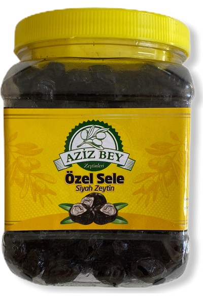 Azizbey Zeytinleri Tuzsuz Kuru Sele Zeytin - 1 kg