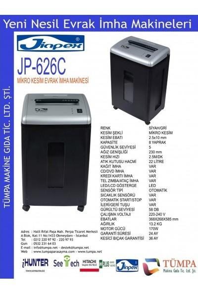 Jinpex 626C Ofis Tipi Evrak Imha Makinesi