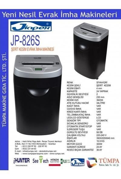 Jinpex JP-826S Ofis Tipi Evrak Imha Makinesi
