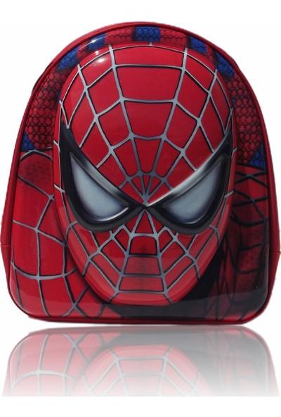 Matris Çocuk Spider Man Anaokulu Çantası Kırmızı
