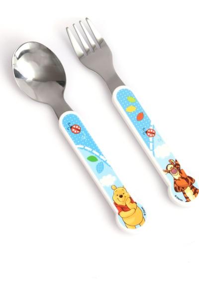 Trudeau Çocuk Yemek Takımı Seti Tabak Kase Çatal Kaşık Disney Winnie The Pooh