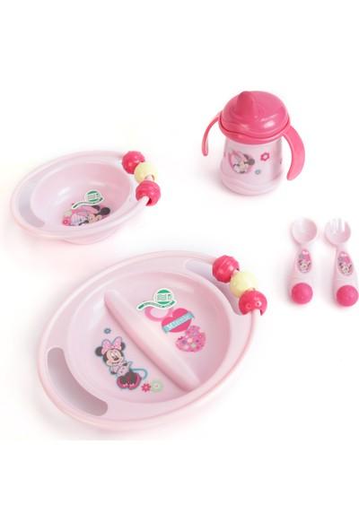 Trudeau Bebek Mama Seti Takımı Tabak Kase Bardak Çatal Kaşık Disney Minnie Mouse