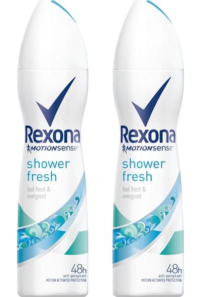 Rexona Shower Fresh Deo Sprey 150ml (2 Adet)