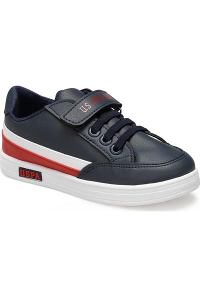 U.S. Polo Assn. Jamal 9pr Lacivert Erkek Çocuk Sneaker Ayakkabı