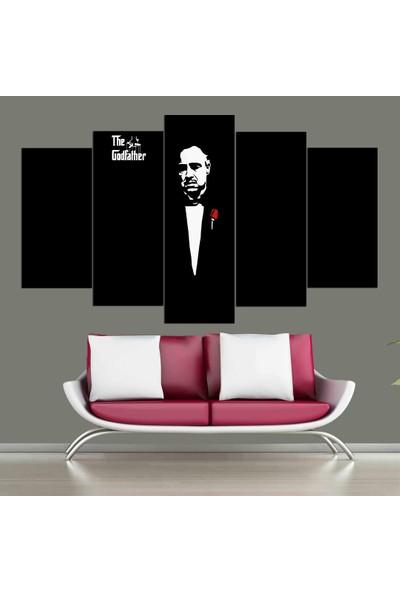 Atölye Hanem 5 Parça The Godfather Tablo