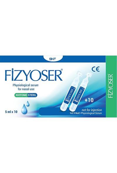 Snt Fizyoser - Serum Fizyolojik 10 Adet 5 ml Flakon