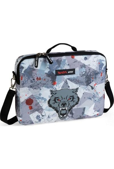 """Busquets Bestial Wolf 11"""" Notebook Çantası 18771050100"""