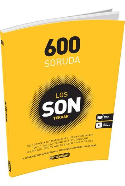 Hız Yayınları 8. Sınıf 600 Soruda Son Tekrar