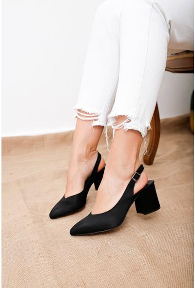 Vanessa Kadın Siyah Topuklu Ayakkabı US28730