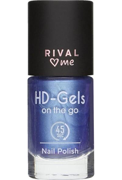 Rival Me Oje No:24 Hd Gels Blue Lagoon Jel Efekt