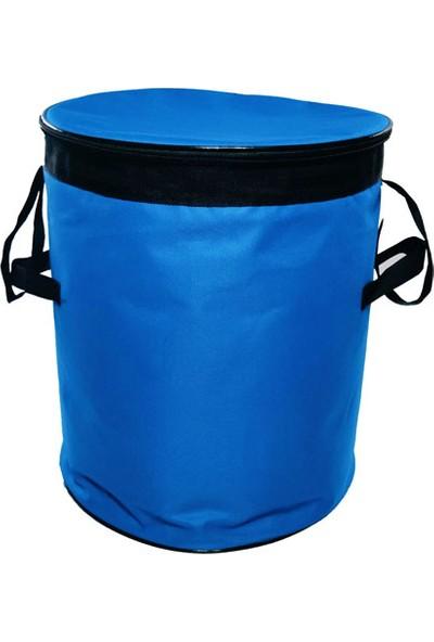 Carneil 55 Litre Mavi 10 Saat Korumalı Bagaj Buzluk Eşya Gıda Taşıyıcı Termal Koruyucu Çanta H614