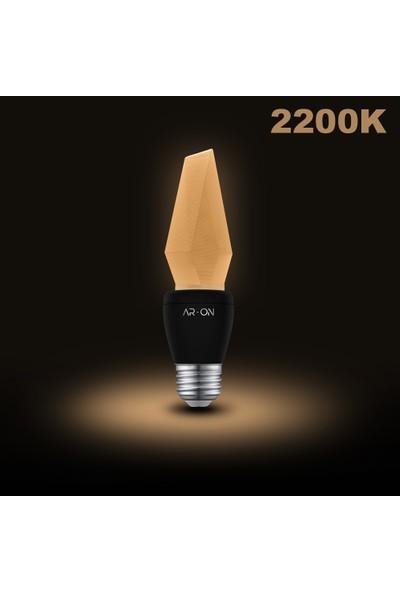 Ar-On Yeni Nesil LED Ampul 5 W - 2200 Kelvin - E14 - Dekoratif LED Ampul - MOD1004